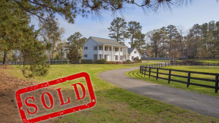 Sold Farm House on Buffalo Road Raleigh