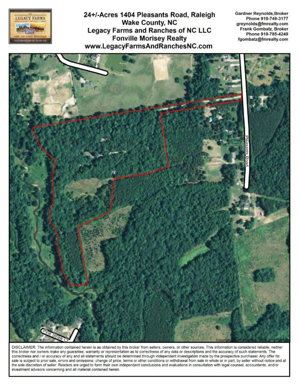 1404 Pleasants Road - 24.4 Acres