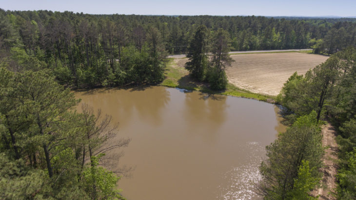 Granville County Farm for Sale with Timber and Pond