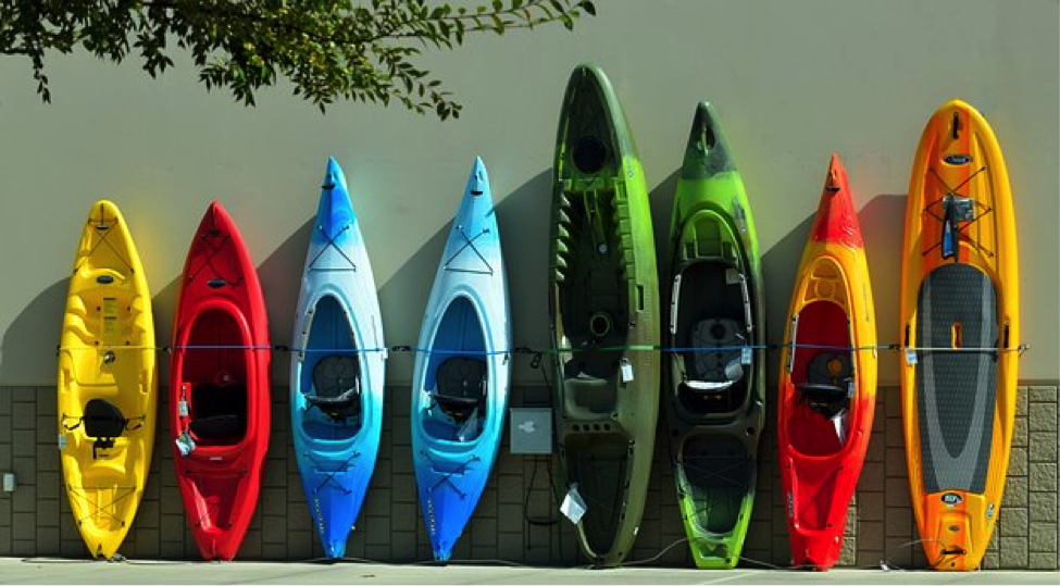 Kayaking in North Carolina