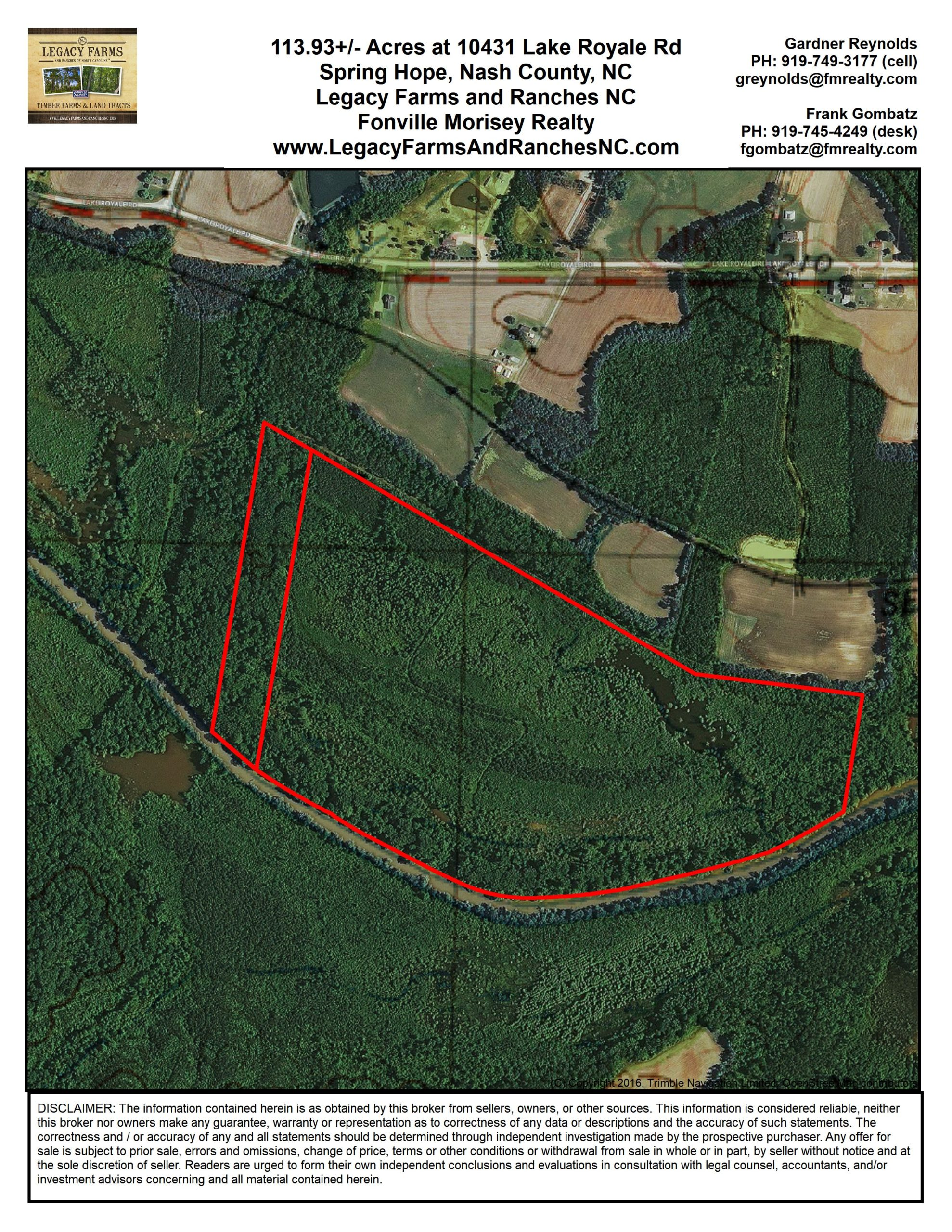 Selling NC Duck Impoundments