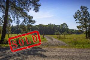 Uzzle Road land Sold 20211