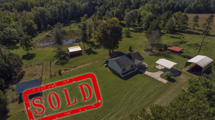 Small farm with 10 acres and a pond sold in Granville County NC